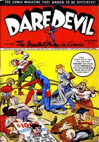 Cover for Daredevil Comics (Lev Gleason, 1941 series) #20