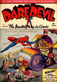 Cover Thumbnail for Daredevil Comics (Lev Gleason, 1941 series) #22