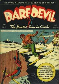 Cover Thumbnail for Daredevil Comics (Lev Gleason, 1941 series) #23