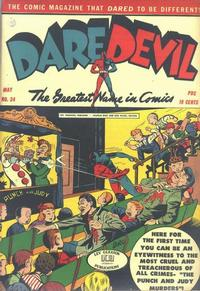 Cover Thumbnail for Daredevil Comics (Lev Gleason, 1941 series) #24