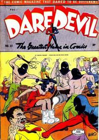 Cover Thumbnail for Daredevil Comics (Lev Gleason, 1941 series) #27