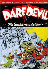 Cover Thumbnail for Daredevil Comics (Lev Gleason, 1941 series) #29