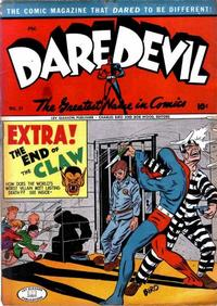 Cover Thumbnail for Daredevil Comics (Lev Gleason, 1941 series) #31