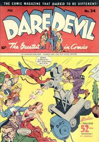 Cover Thumbnail for Daredevil Comics (Lev Gleason, 1941 series) #34
