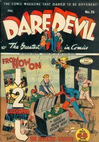 Cover Thumbnail for Daredevil Comics (Lev Gleason, 1941 series) #35