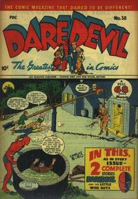 Cover Thumbnail for Daredevil Comics (Lev Gleason, 1941 series) #38