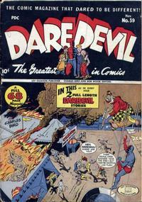 Cover Thumbnail for Daredevil Comics (Lev Gleason, 1941 series) #39