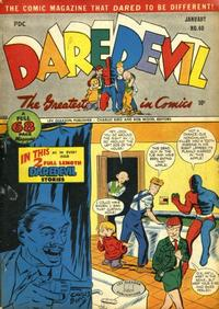 Cover Thumbnail for Daredevil Comics (Lev Gleason, 1941 series) #40