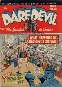 Cover Thumbnail for Daredevil Comics (Lev Gleason, 1941 series) #42