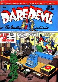 Cover Thumbnail for Daredevil Comics (Lev Gleason, 1941 series) #43