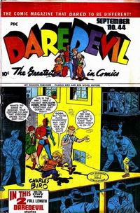 Cover Thumbnail for Daredevil Comics (Lev Gleason, 1941 series) #44