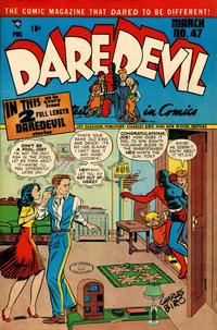 Cover Thumbnail for Daredevil Comics (Lev Gleason, 1941 series) #47