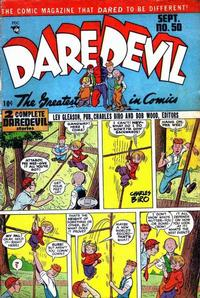 Cover Thumbnail for Daredevil Comics (Lev Gleason, 1941 series) #50