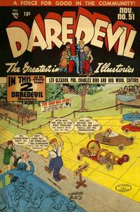 Cover Thumbnail for Daredevil Comics (Lev Gleason, 1941 series) #51