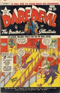 Cover Thumbnail for Daredevil Comics (Lev Gleason, 1941 series) #57