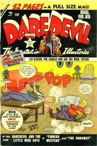 Cover Thumbnail for Daredevil Comics (Lev Gleason, 1941 series) #65