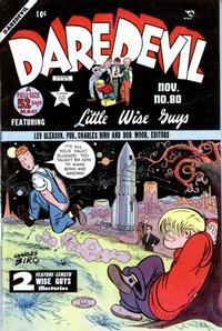 Cover Thumbnail for Daredevil Comics (Lev Gleason, 1941 series) #80