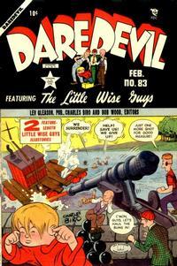 Cover Thumbnail for Daredevil Comics (Lev Gleason, 1941 series) #83