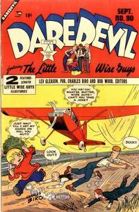 Cover Thumbnail for Daredevil Comics (Lev Gleason, 1941 series) #90
