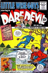 Cover Thumbnail for Daredevil Comics (Lev Gleason, 1941 series) #128