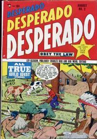Cover Thumbnail for Desperado (Lev Gleason, 1948 series) #2