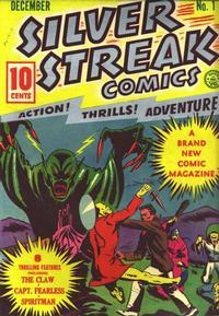 Cover Thumbnail for Silver Streak Comics (Lev Gleason, 1939 series) #1
