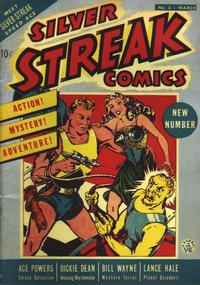 Cover Thumbnail for Silver Streak Comics (Lev Gleason, 1939 series) #3