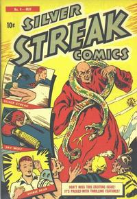 Cover Thumbnail for Silver Streak Comics (Lev Gleason, 1939 series) #4