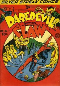 Cover Thumbnail for Silver Streak Comics (Lev Gleason, 1939 series) #7