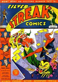 Cover Thumbnail for Silver Streak Comics (Lev Gleason, 1939 series) #8