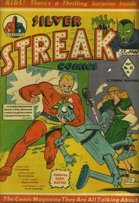 Cover Thumbnail for Silver Streak Comics (Lev Gleason, 1939 series) #10