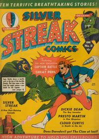 Cover Thumbnail for Silver Streak Comics (Lev Gleason, 1939 series) #11