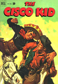 Cover Thumbnail for The Cisco Kid (Dell, 1951 series) #4