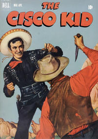Cover Thumbnail for The Cisco Kid (Dell, 1951 series) #8