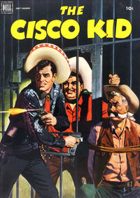 Cover Thumbnail for The Cisco Kid (Dell, 1951 series) #10