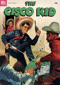 Cover Thumbnail for The Cisco Kid (Dell, 1951 series) #13