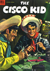 Cover Thumbnail for The Cisco Kid (Dell, 1951 series) #18