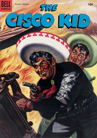 Cover Thumbnail for The Cisco Kid (Dell, 1951 series) #25