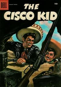 Cover Thumbnail for The Cisco Kid (Dell, 1951 series) #30