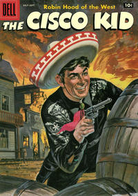 Cover Thumbnail for The Cisco Kid (Dell, 1951 series) #36