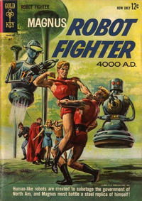 Cover Thumbnail for Magnus, Robot Fighter (Western, 1963 series) #2