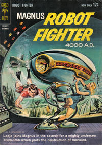 Cover Thumbnail for Magnus, Robot Fighter (Western, 1963 series) #4