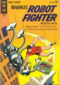 Cover Thumbnail for Magnus, Robot Fighter (Western, 1963 series) #5