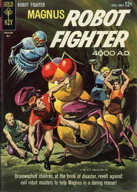 Cover Thumbnail for Magnus, Robot Fighter (Western, 1963 series) #6