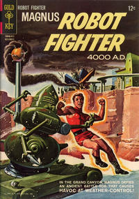 Cover Thumbnail for Magnus, Robot Fighter (Western, 1963 series) #8