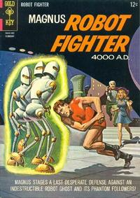 Cover Thumbnail for Magnus, Robot Fighter (Western, 1963 series) #9