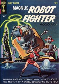 Cover Thumbnail for Magnus, Robot Fighter (Western, 1963 series) #10