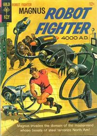 Cover Thumbnail for Magnus, Robot Fighter (Western, 1963 series) #11