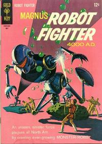 Cover Thumbnail for Magnus, Robot Fighter (Western, 1963 series) #14