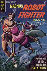 Cover Thumbnail for Magnus, Robot Fighter (Western, 1963 series) #27